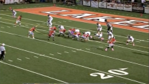 Naughts Clip Eagles in Double Overtime