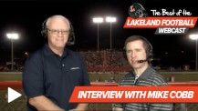 Best of the Lakeland Football Webcast – Interview with Mike Cobb