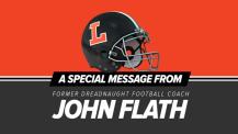 Former Dreadnaught Coach John Flath Gives a Great Talk at the Booster Club