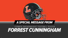A Special Message from former Dreadnaught Football player Forrest Cunningham