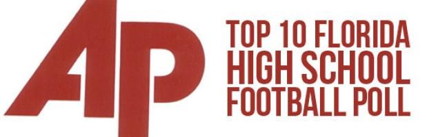 Associated Press Top 10 Florida High School Football Poll – Week 3