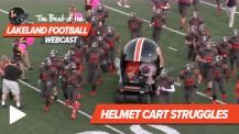 Best of the Lakeland Football Webcast – Helmet Cart Struggles